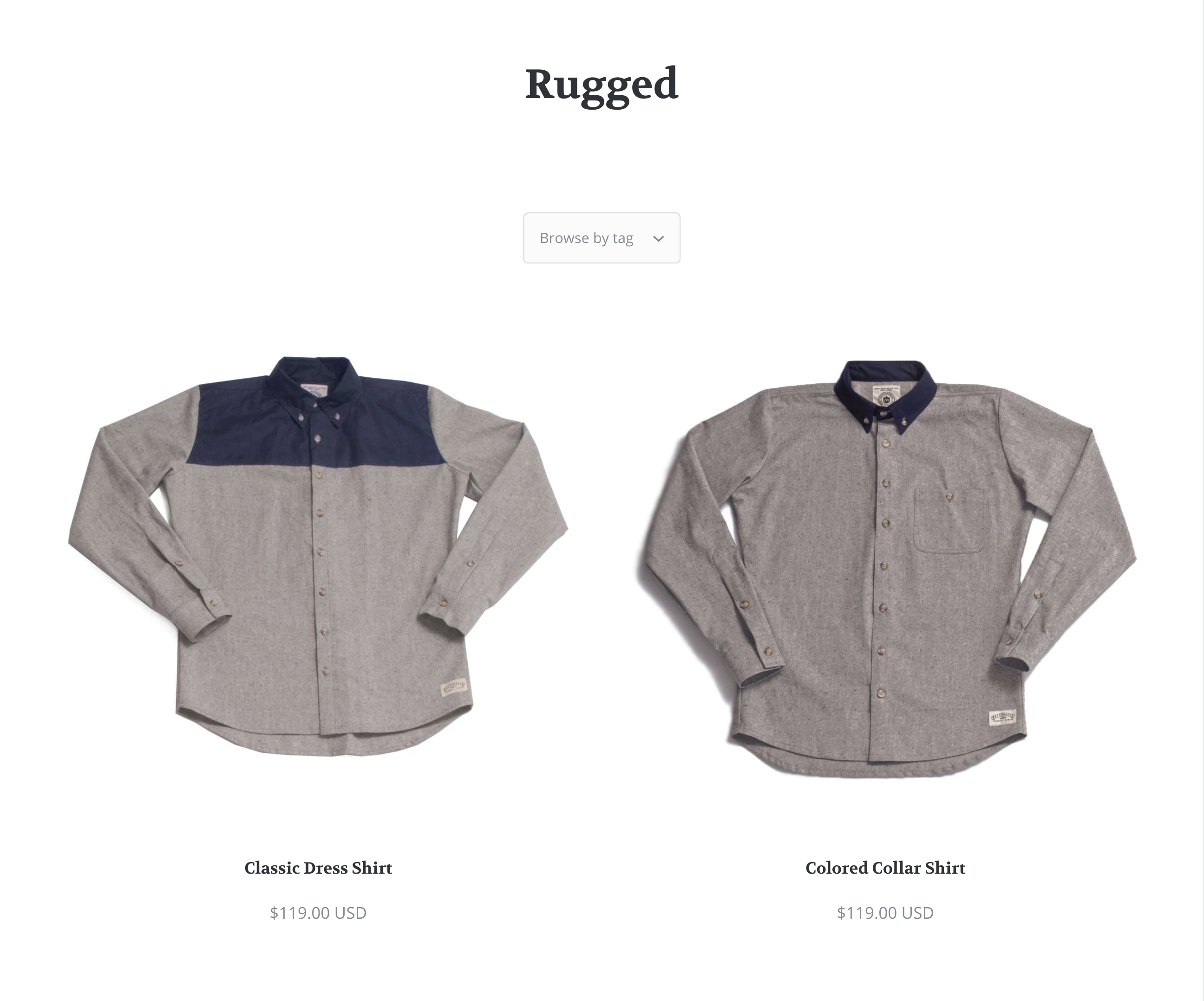 Startup_collection_page_in_cloth_demo.png
