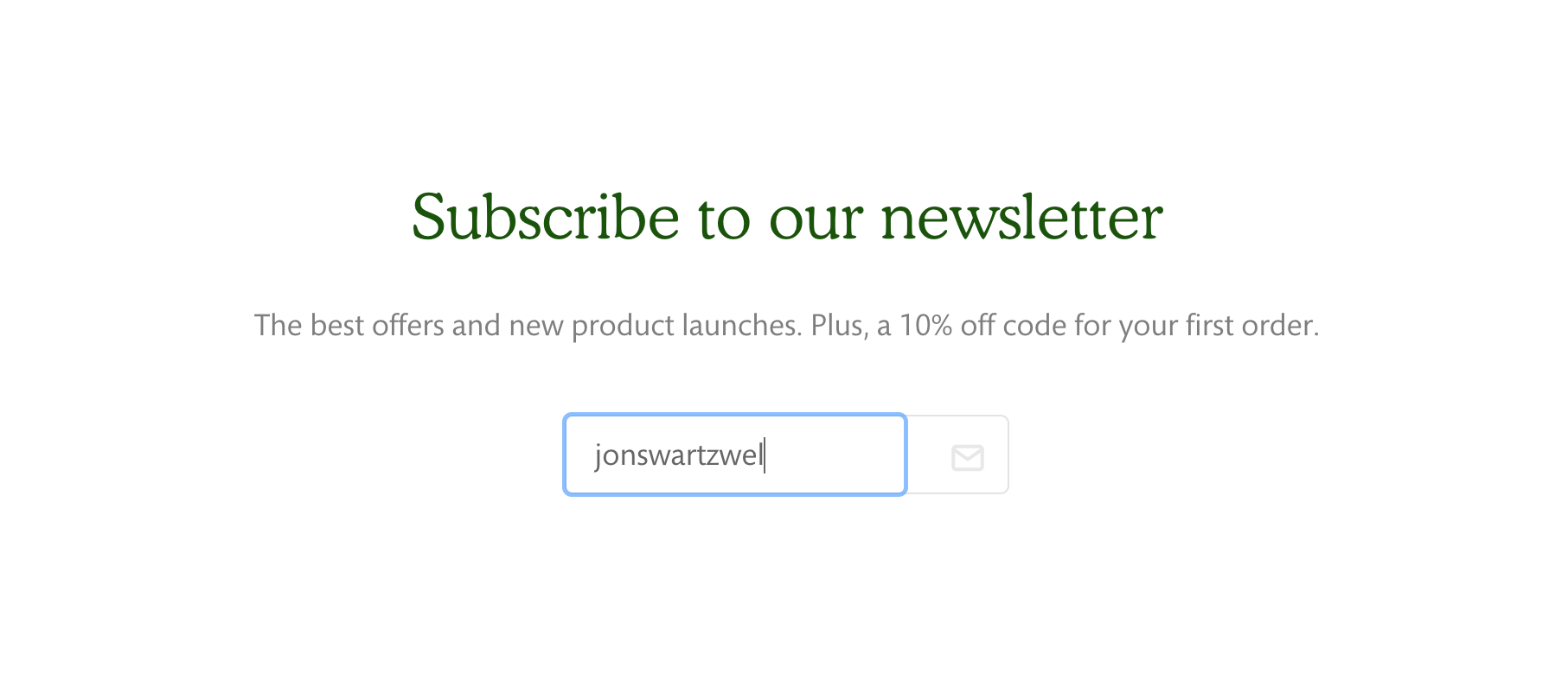 Newsletter_section_with_email_address_being_typed.png