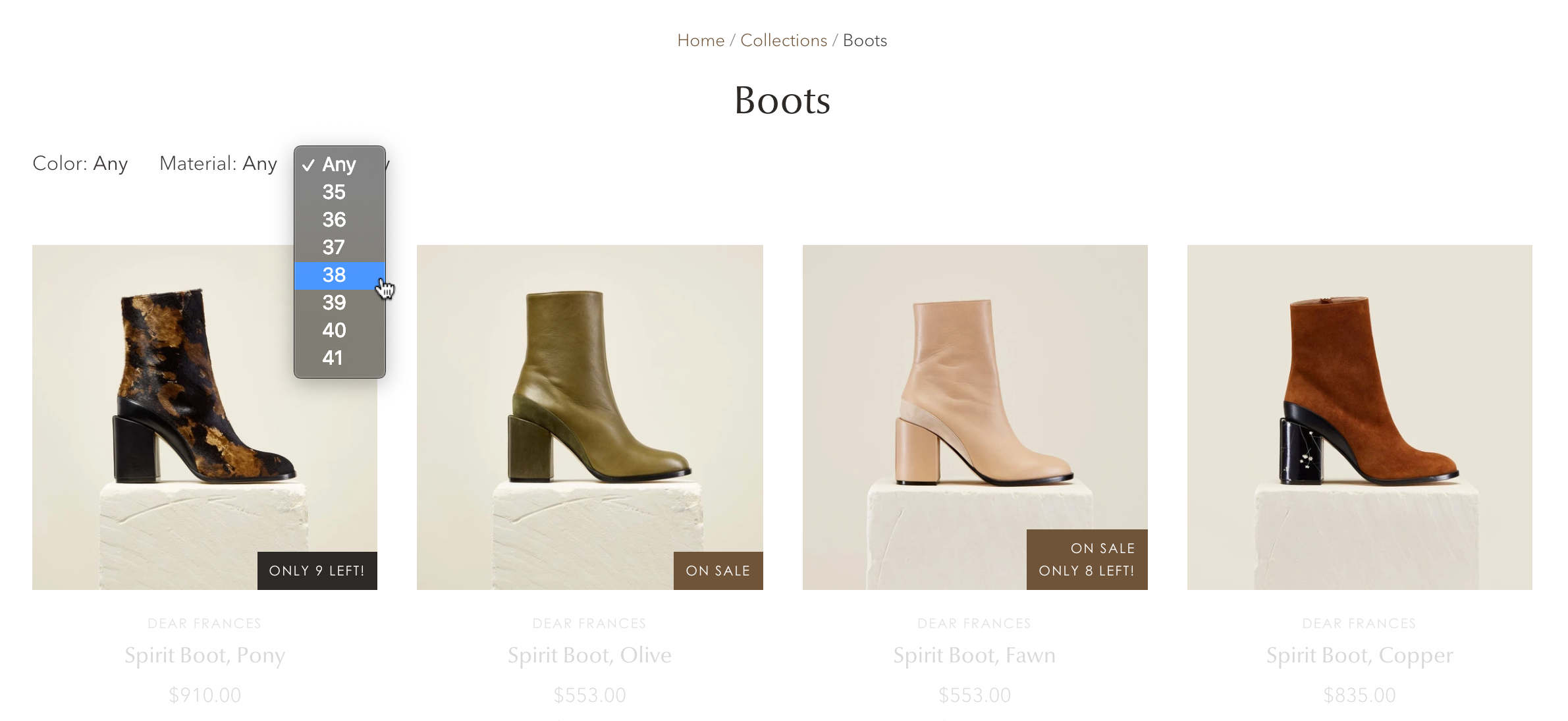 Selecting_a_size_filter_for_boots_collection.png